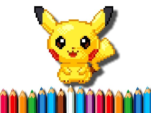 Jogo BTS Pokemon Coloring Book