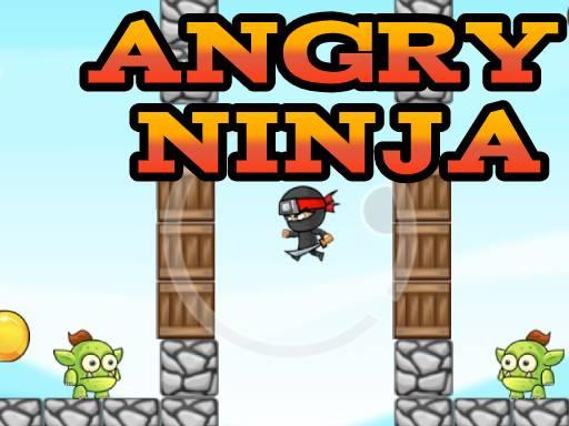 Jogo Ninja Zangado