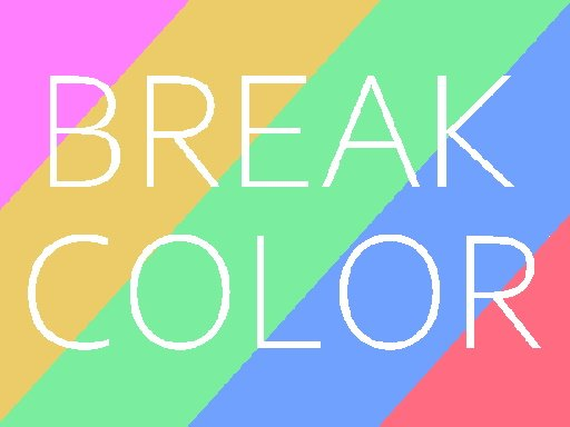 Jogo Quebra de Cor – Break Color