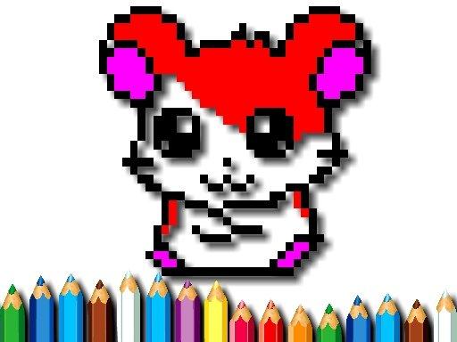 Jogo Tempo de Coloração de Pixel
