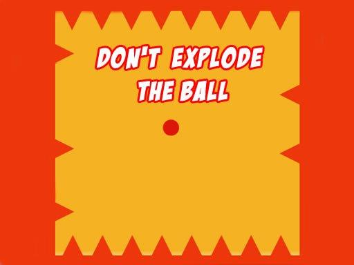 Jogo Não Exploda a Bola