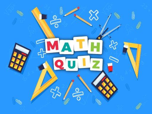 Jogo Math Quiz