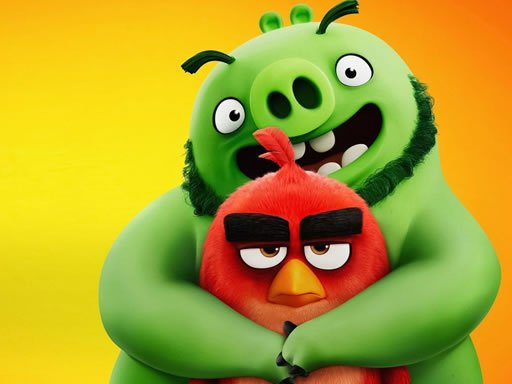 Jogo Quebra-cabeça Divertido de Angry Birds
