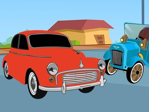 Jogo Old Timer Cars Coloring