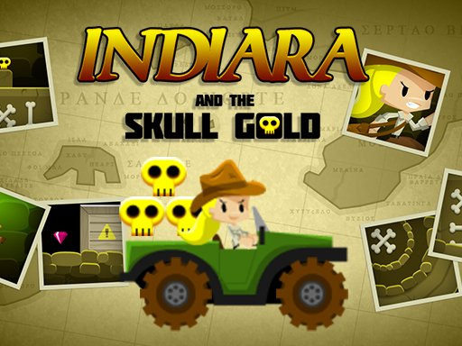 Jogo Indiara and the Skull Gold