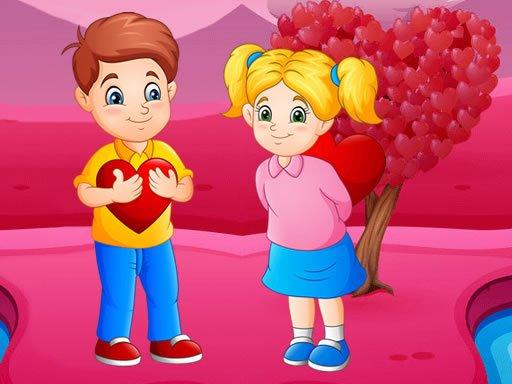 Jogo Diferenças de Amor Romântico