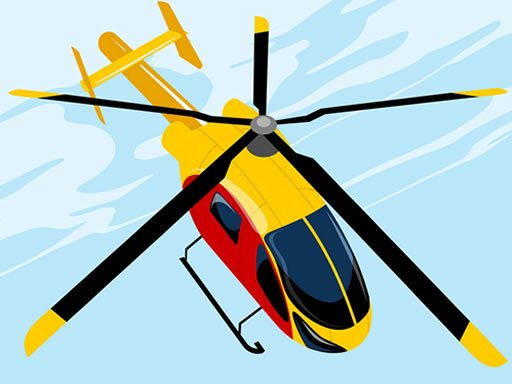 Jogo Quebra-cabeça de Helicóptero Perigoso