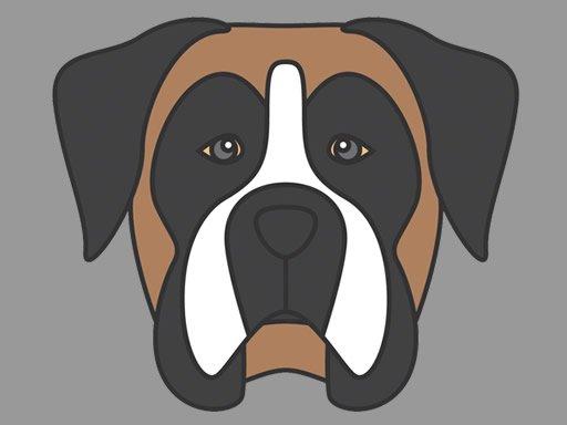 Jogo Coloração de Cara de Cachorro