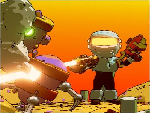 Jogo Run Gun Robots