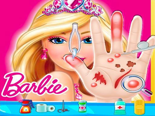 Jogue Barbie Hand Doctor: Fun Jogo