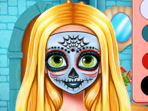 Jogo Sister Halloween Face Paint