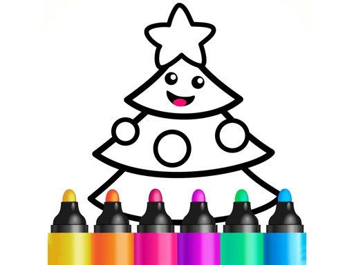 Jogo Drawing Christmas For Kids