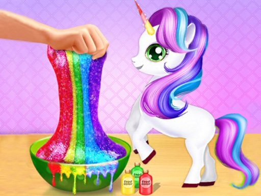 Jogo Unicorn Slime Maker