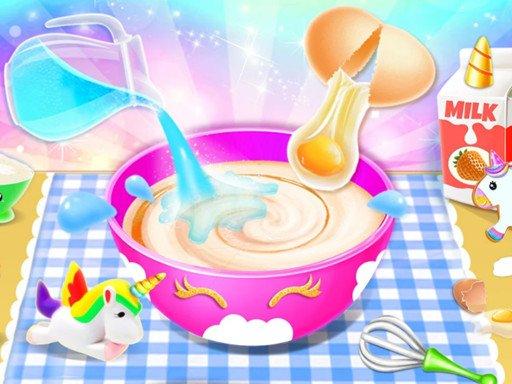 Jogo Little Princess Unicorn Cake Make
