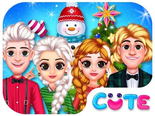 Jogo Frozen Princess Christmas Celebration