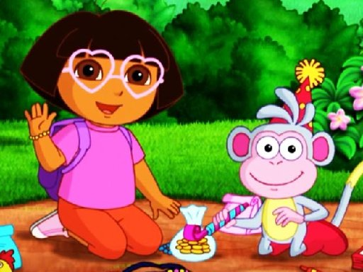 Jogo Dora Kids Puzzles