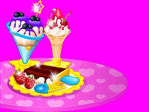 Jogue Frozen Ice Cream Maker Jogo
