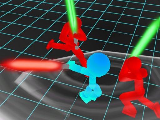 Jogo Stickman Neon Warriors: Sword Fighting