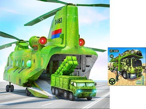 Jogo US Army Cargo Transport Truck Driving