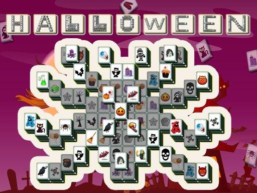 Jogo Halloween Mahjong Deluxe Online