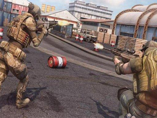 Jogo Army Commando Shooting Adventure