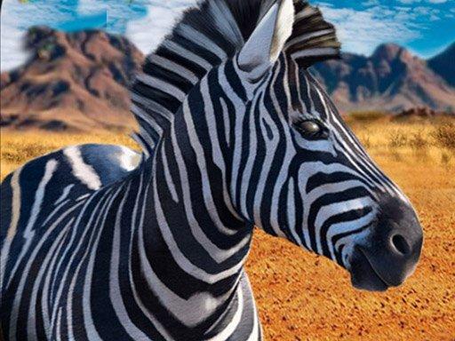 Jogo Zebra Hunter Sniper Shooting