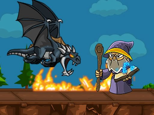 Jogo Dragon vs Mage