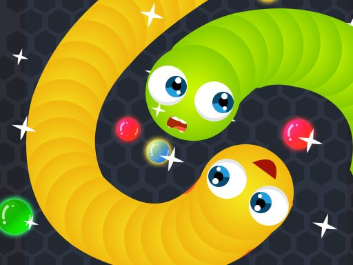 Jogo Snake.IO : Angry Slither Worm