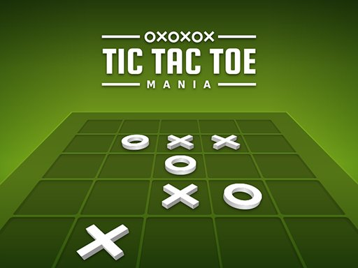 Jogo Tic Tac Toe  Mania