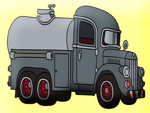 Jogo Coloração de tanques e caminhões