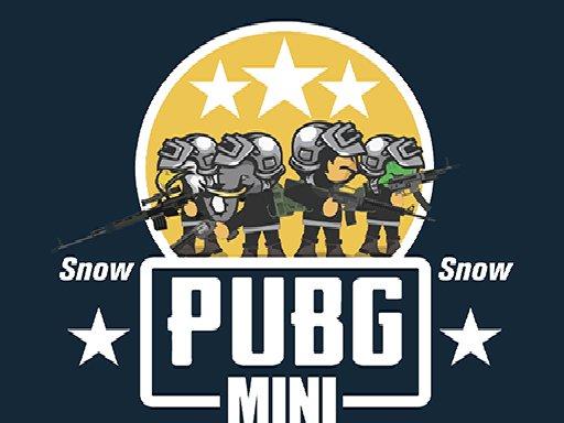 Jogo PUBG Mini Snow Multiplayer