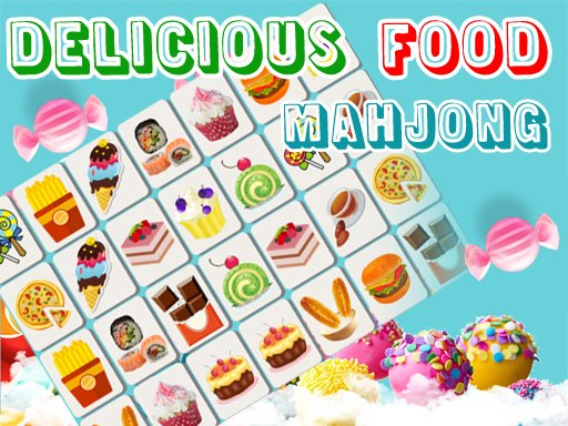 Jogo Delicious Food Mahjong Connects