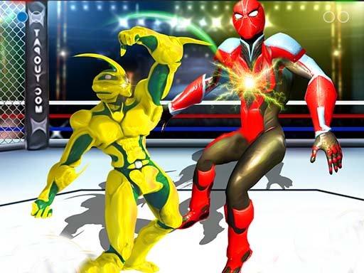 Jogo Robot Ring Fighting Wrestling