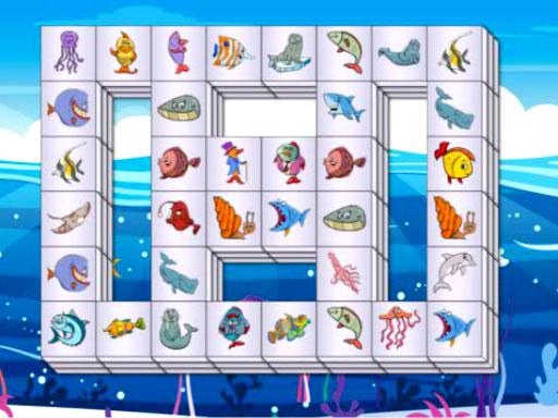Jogo Sea Life Mahjong