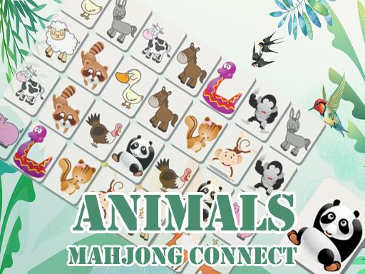 Jogo Animals Mahjong Connects