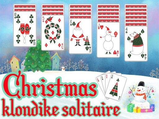 Jogo Christmas Klondike Solitaire