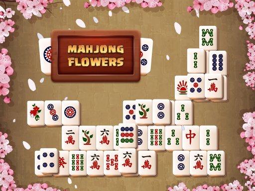 Jogo Mahjong Flowers