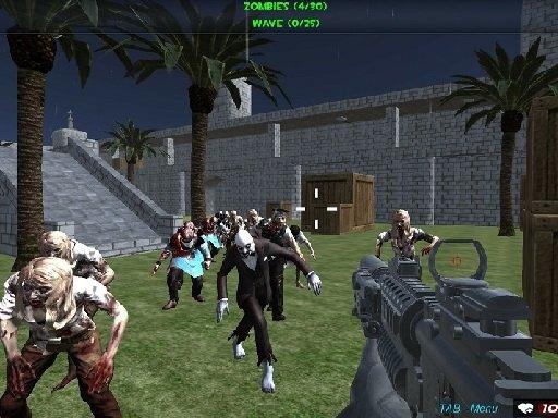 Jogo Shooting Zombie fps Xtreme Good vs Bad Boys