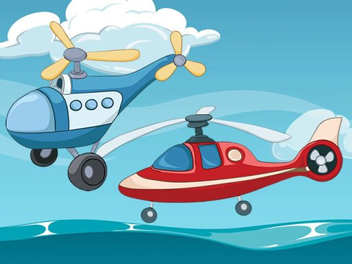 Jogo Funny Helicopter Memory