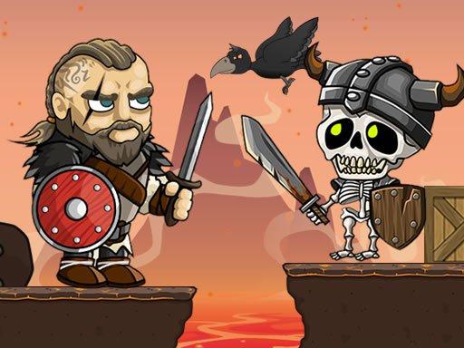 Jogo Vikings vs Skeletons