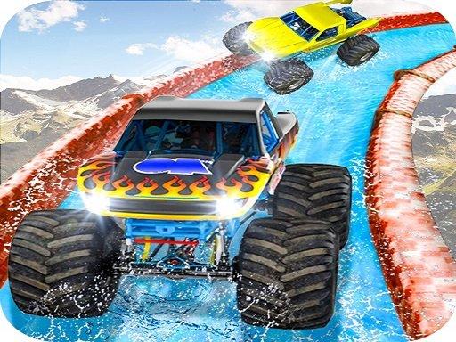 Jogue Monster Truck Water Surfing Jogo