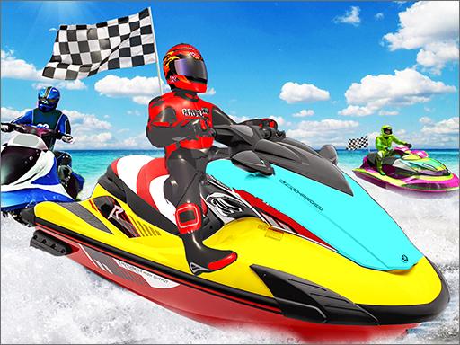 Jogue Water Boat Racing Jogo