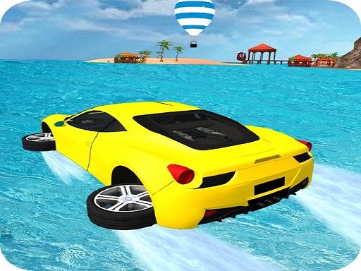 Jogue Water Surfing Car Stunts 3D Jogo