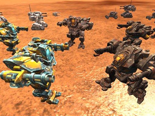 Jogo Mech Battle Simulator