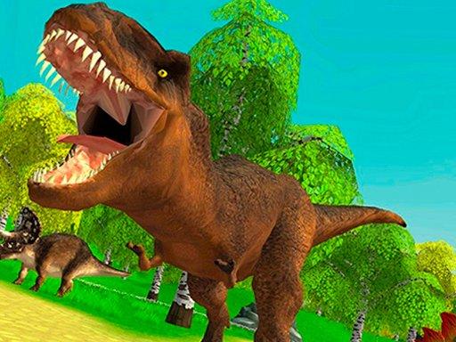 Jogo Dinosaur Hunting Dino Attack 3D