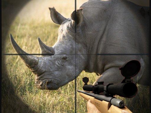 Jogo Rhino Hunter Shooting Strike