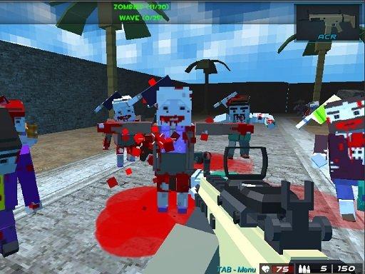 Jogo Pixel Combat The SandStorm
