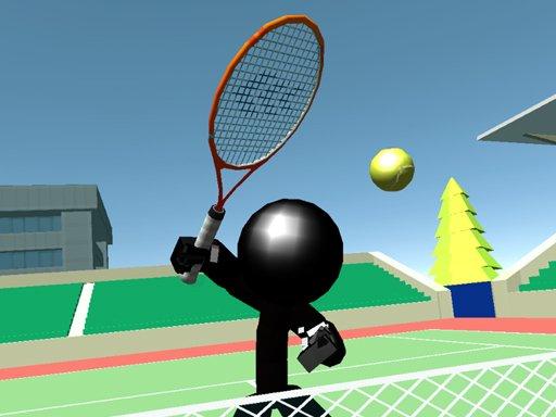 Jogo Stickman Tennis 3D