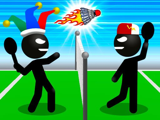 Jogo Stickman Sports Badminton