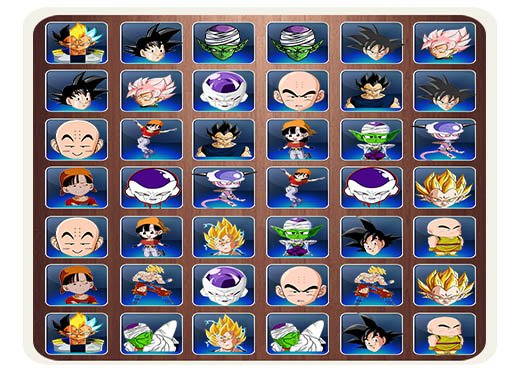 Jogo Find The Dragon Ball Z Face